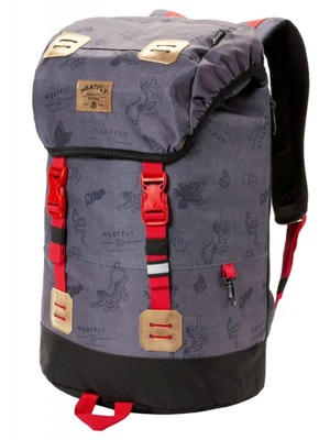 Batoh Meatfly Pioneer 3 stamps grey 26l