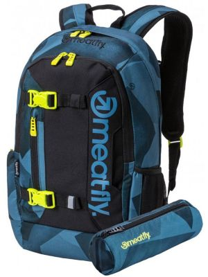 Batoh Meatfly Basejumper 5 shade mono steel black 20l