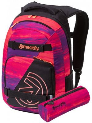 Batoh Meatfly Exile 4 black ambient pink 22l
