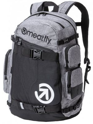 Batoh Meatfly Wanderer 5 heather grey black 28l