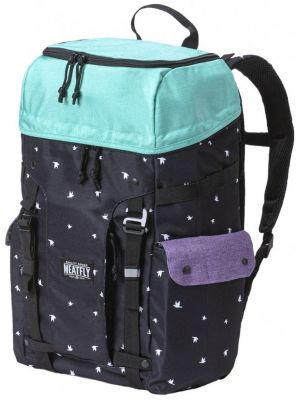 Batoh Meatfly Scintilla 2 ht. light mint birds black ht. violet 30l