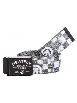 Pásek Meatfly Siren black heather/white