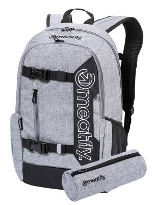 Batoh Meatfly Basejumper 6 heather grey 22l