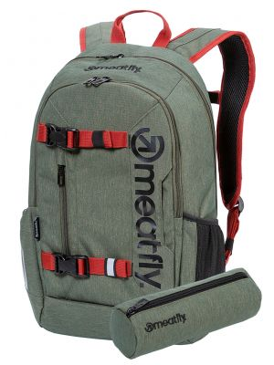Batoh Meatfly Basejumper 6 Heather Olive 22l