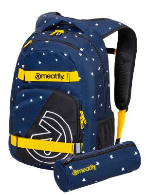 Batoh Meatfly Exile 5 Birds Dark Navy 24l