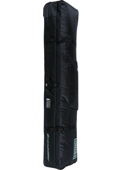 Obal na snowboard Nitro Tracker wheelie board bag jet Black