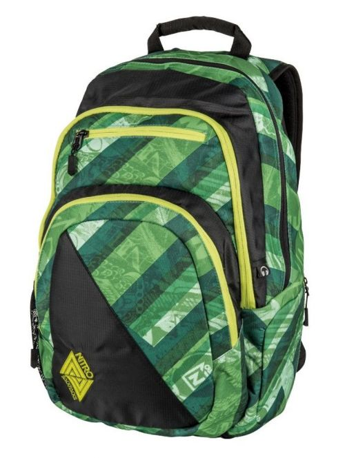 Batoh Nitro Stash wicked green 27l
