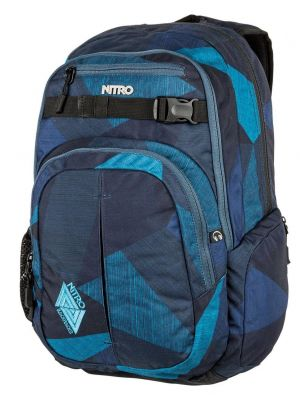 Batoh Nitro Chase fragments blue 35l