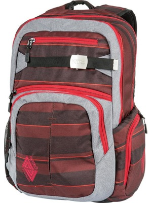 Batoh Nitro Hero red stripes 37l