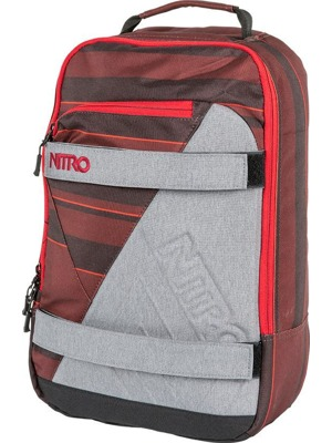 Batoh Nitro Axis red stripes 27l