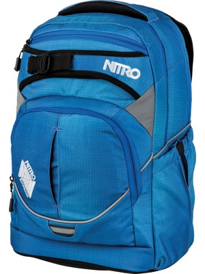 Batoh Nitro Superhero brilliant blue 30l