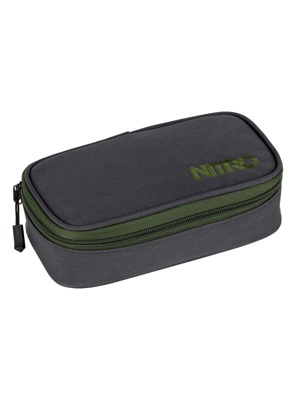 Školní penál Nitro Pencil Case XL pirate black