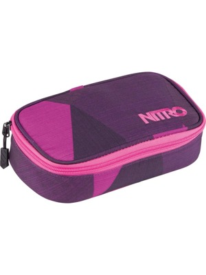 Školní penál Nitro Pencil Case XL fragments purple