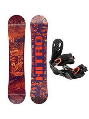 Juniorský snowboardový set Nitro Ripper youth 17/18