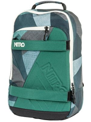 Batoh Nitro Axis fragments green 27l