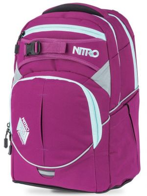 Batoh Nitro Superhero grateful pink 30l