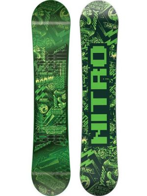 Snowboard Nitro Ripper Green Youth