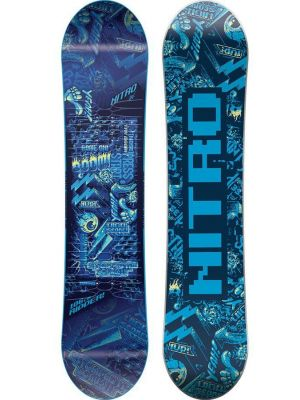 Snowboard Nitro Ripper Kids Blue