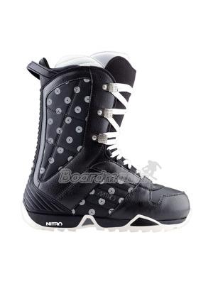 Dámské boty Nitro barrage black-dots 58c1c3dfaa