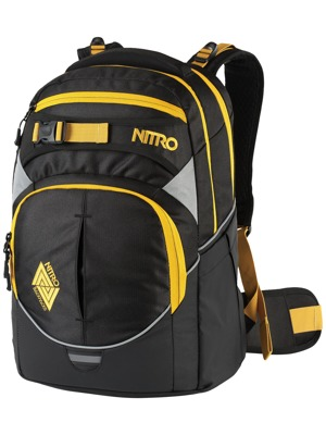 Batoh Nitro Superhero Golden Black 30l