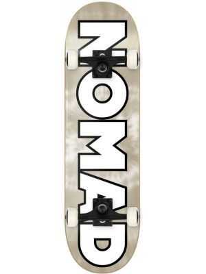 Skateboard Nomad Chrome Dye gold