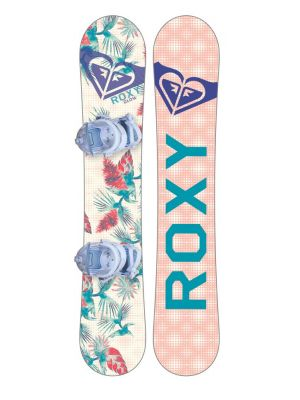 Snowboard set Roxy Glow board 18/19