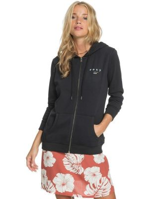 Mikina Roxy Day Breaks Zipped Terry anthracite