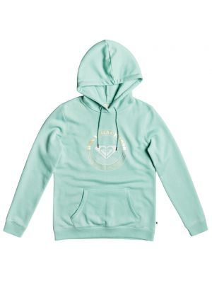 Mikina Roxy Day Breaks Hoodie Brushed A brook green
