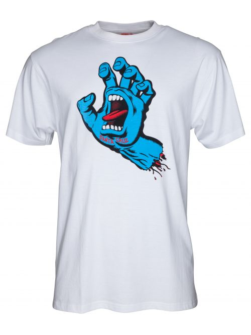 Tričko Santa Cruz Screaming Hand white