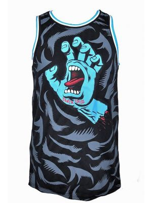 Pánské tílko Santa Cruz Screaming Camo Basketball Vest