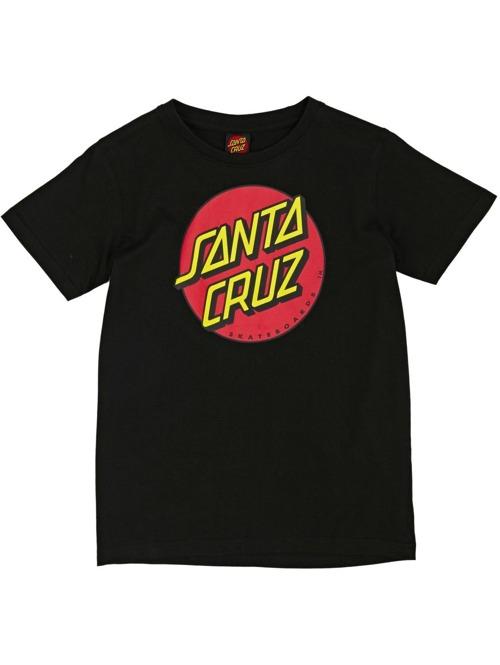 d6068f4c6cf Dětské tričko Santa Cruz Classic Dot Black