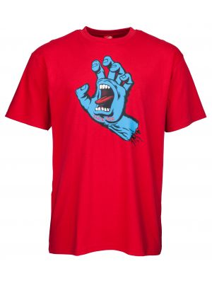 Tričko Santa Cruz Screaming Hand deep red