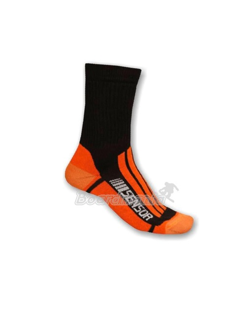Ponožky Sensor Treking Evolution black-orange