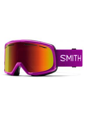 Brýle Smith Drift fuchsia red Sol-X mirror 19/20