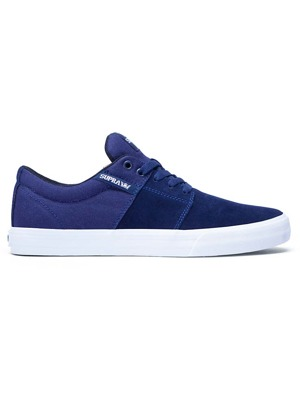 Boty Supra Stacks Vulc II navy/ white