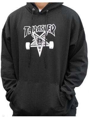 014643219e3 Pánská mikina Thrasher Skategoat Hood black
