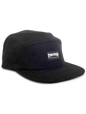 Kšiltovka Thrasher 5-panel black