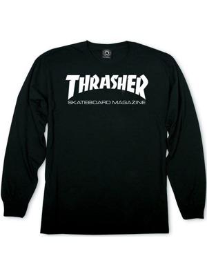 Pánské tričko Thrasher Skate Mag L S black 411de515fd