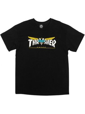 Tričko Thrasher Venture Collab black