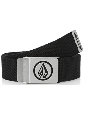Pásek Volcom Circle Web stoney black