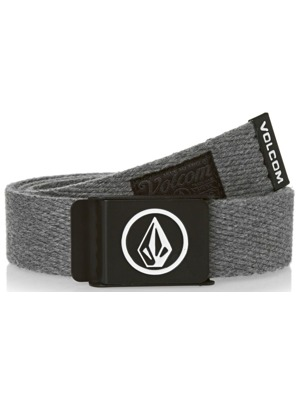 Pásek Volcom Circle Web heather grey
