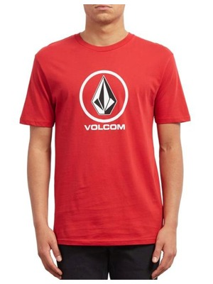 Tričko Volcom Crisp Stone engine red