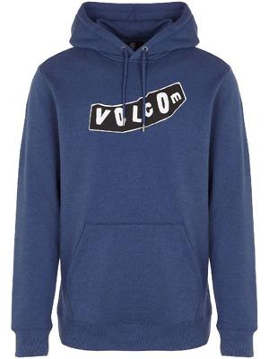 Mikina Volcom Supply Stone P O matured blue  a0e25cfcf39
