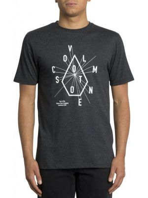 Tričko Volcom Eyechart Heather Black