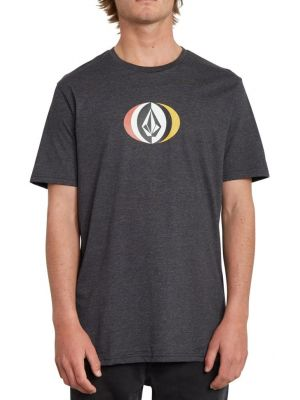 Tričko Volcom Vast Hth heather black